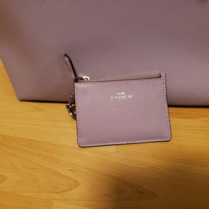 Coach Bags - BNWT Lavender Coach City Zip Tote and Wallet